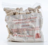 FastCork Pack of 100 Quality Synthetic Corks 23x38mm